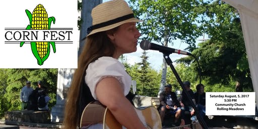 Barb Sorensen concert at the 63rd Annual Cornfest in Rolling Meadows, IL August 3, 2019 5:30 pm
