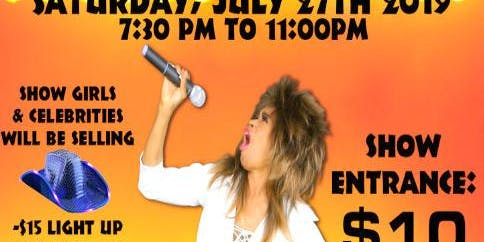 Terrible's Casino  Tina Turner impersonator Tribute Show