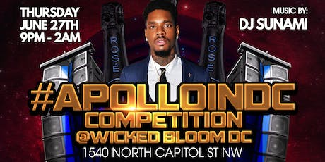 Apollo In DC $500 Giveaway Competition Showcase By World Famous DJ Torch tickets