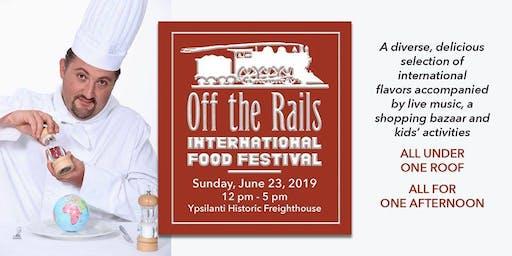 2019 Off the Rails International Food Festival