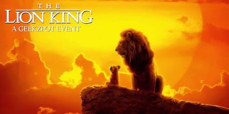 The Lion King: A GeekZpot Event tickets