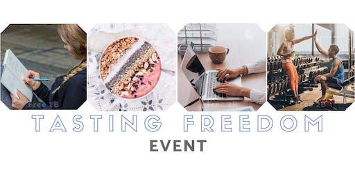 Tasting Freedom Event