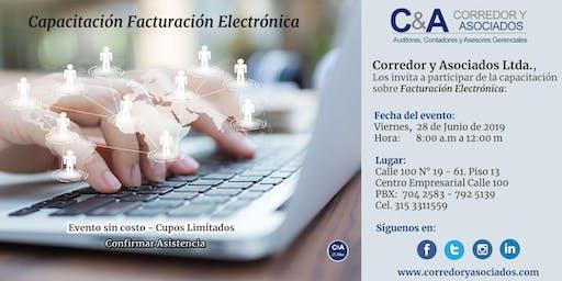 Capacitación Facturación Electrónica