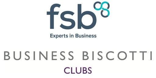 The Marlow Professionals Club with Business Biscotti