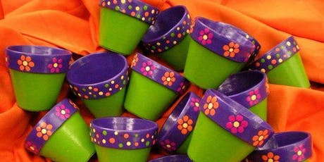 Kids Camp- Painting Pots and Planting Herbs tickets