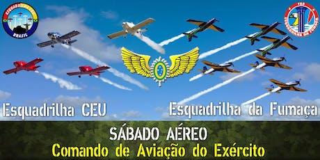 Sábado Aéreo 2019 - Comando de Aviação do Exército - CAvEx ingressos