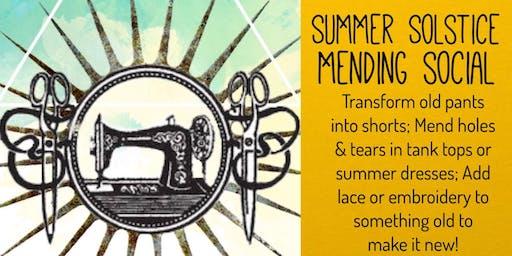 Summer Solstice Mending Social