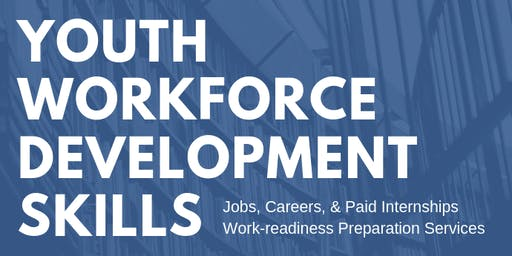 Youth Workforce Skills & Services at the Library Mall Branch