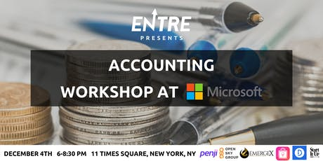 Accounting for Your Startup Workshop - NYC tickets