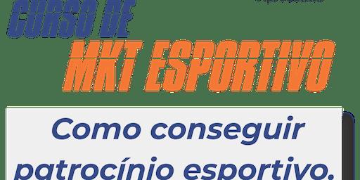 Curso Mkt Esportivo - Como captar patrocínio esportivo.