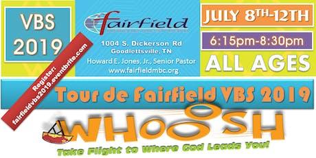 Fairfield VBS 2019 tickets