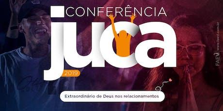 Conferência JUCA ingressos