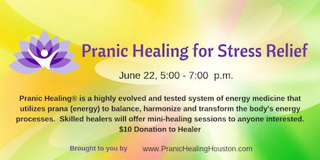 Pranic Healing for Stress Relief tickets