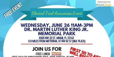 Clinical Trial Awareness Health Fair! tickets