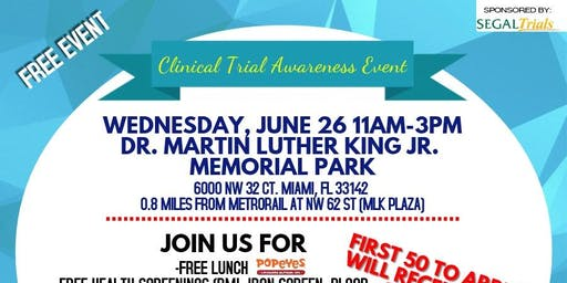 Clinical Trial Awareness Health Fair!