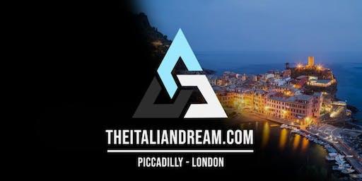 The Italian Dream US Launch Event