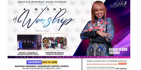 NOW Concert Feat. Karen Clark Sheard tickets