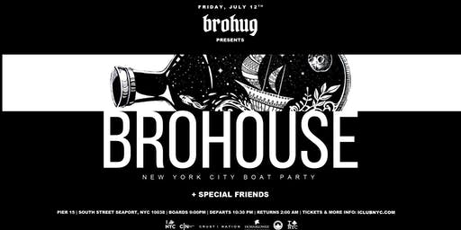 BROHOUSE BOAT PARTY CRUISE  NEW YORK CITY  VIEWS & VIBES