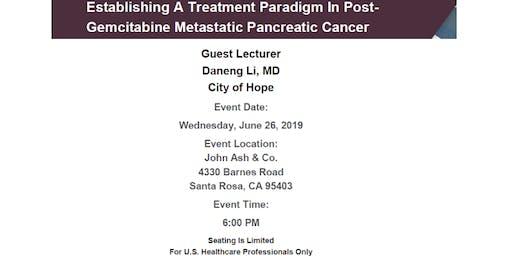 Establishing Treatment in Post-Gemcitabine Metastatic Pancreatic Cancer