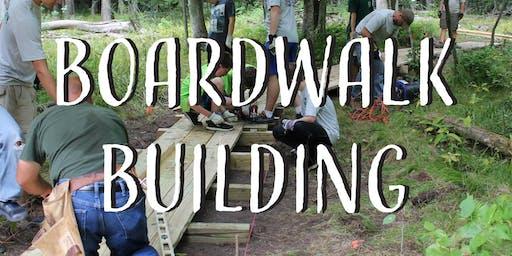 Boardwalk Building Day 1