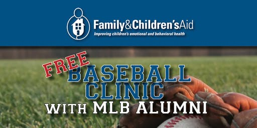 Free Baseball Clinic With MLB Alumni