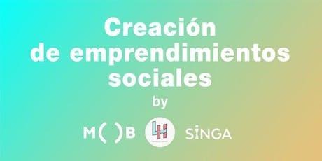Taller de Emprendimiento Social  entradas