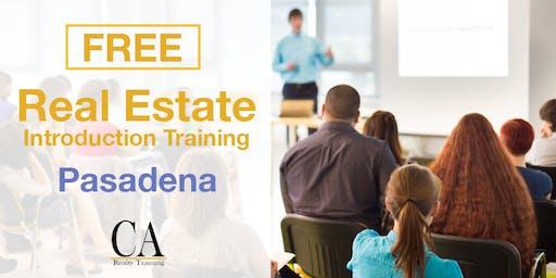 Free Real Estate Intro Session - Pasadena