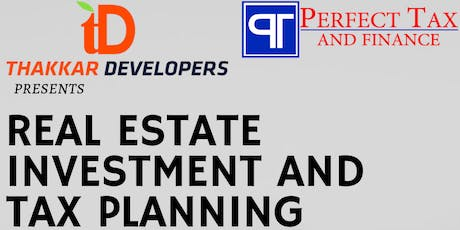 Tax Planning and Real Estate Investment Seminar on June 22nd, 2019 tickets