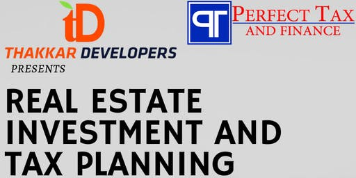 Tax Planning and Real Estate Investment Seminar on June 22nd, 2019
