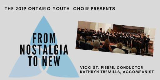 Ontario Youth Choir Concert: Goderich
