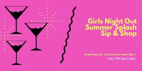 """Summer Splash"" Sip & Shop Ladies Networking Social @Blackbeards 7.17 tickets"