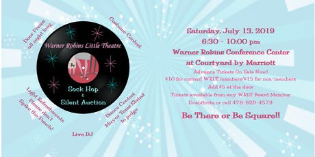 Warner Robins Little Theatre 2019 Sock Hop tickets