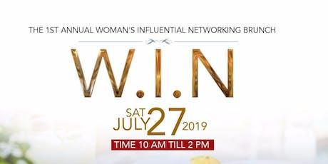Woman's Influential Networking Brunch billets