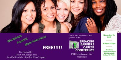 2019 Breaking Barriers Career Conference - For Women