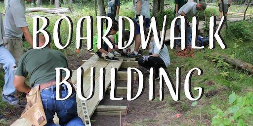 Boardwalk Building Day 2
