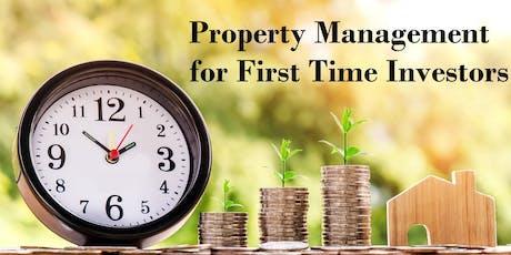 Property Management for First Time Investors Workshop tickets