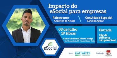PALESTRA: IMPACTO DO E-SOCIAL PARA AS EMPRESAS