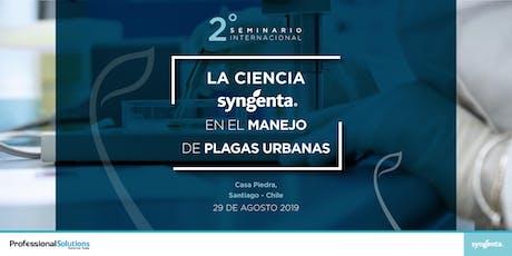 Seminario Internacional Plagas Urbanas tickets