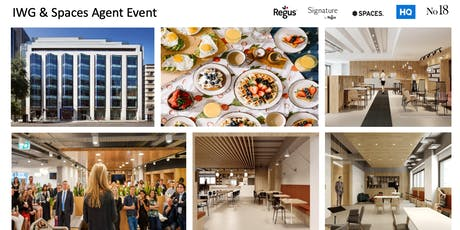 IWG & Spaces Agent Event Victoria London tickets