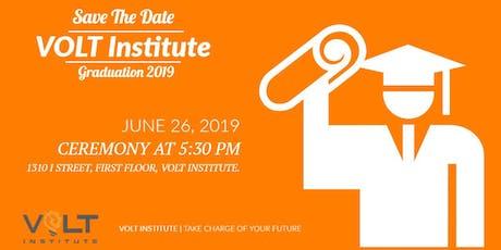 2019 VOLT Institute Graduation tickets