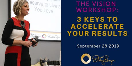 The Vision Workshop - 3 Keys to Accelerate Your Results  tickets