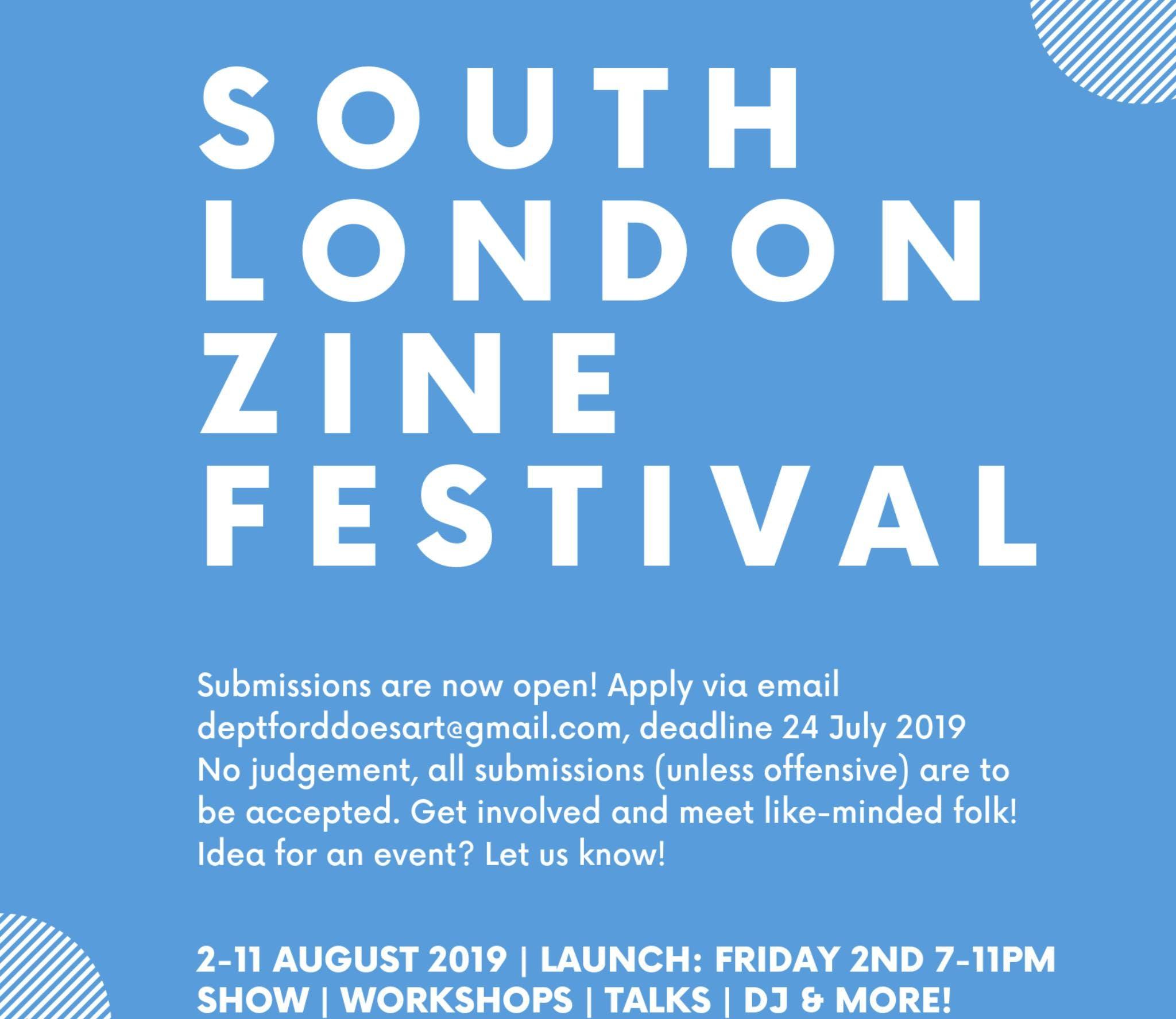 South London Zine Festival 2019