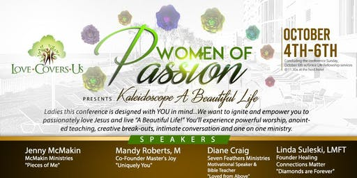 Women of Passion Present Kaleidoscope...A Beautiful Life!