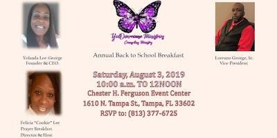 Annual Back To School Prayer Breakfast
