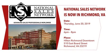Launching NSN Richmond Chapter tickets