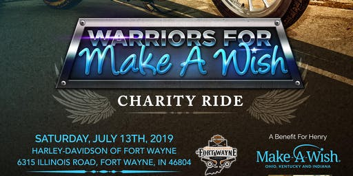 Warriors For Make-A-Wish Motorcycle Ride