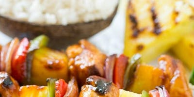 Kids Camp- Grilled Kabobs and Rice