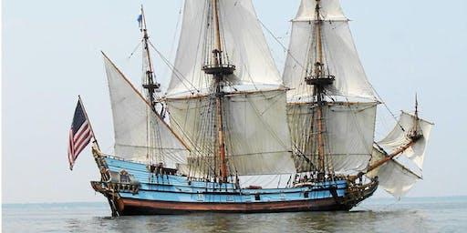 KALMAR NYCKEL Downrigging Weekend Sails*, Nov. 2-3, 2019