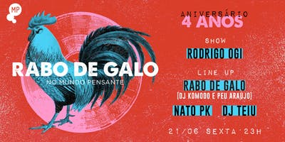 21/06 - RABO DE GALO 4 ANOS E RODRIGO OGI NO MUN