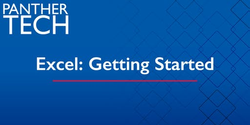 Excel: Getting Started - Decatur - SA 3110